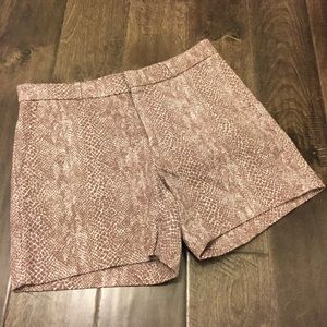 Banana Republic Snakeskin Chino Shorts